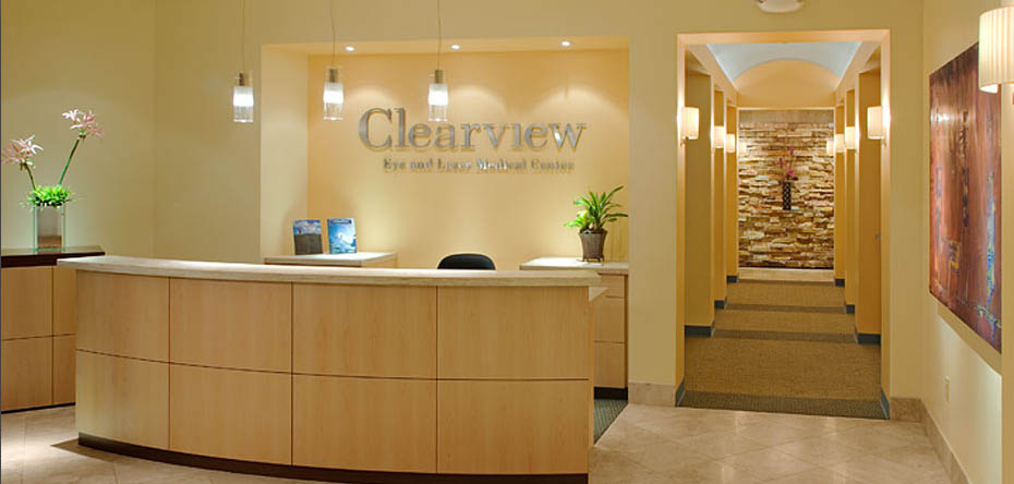 Commercial clearview eye laser medical center san for Interior design 92101