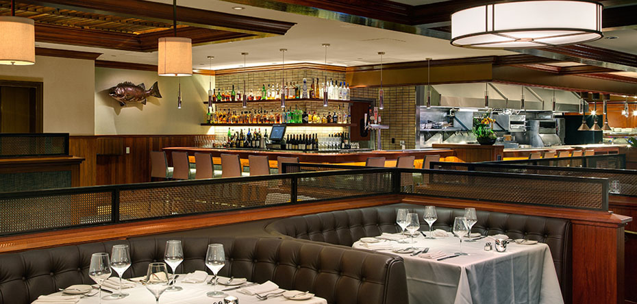 Hospitality top of the market restaurant fish